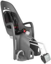 Odchylany fotelik rowerowy Hamax Zenith Relax szary z czarną wyściółką