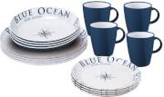 Podróżny zestaw obiadowy Lunch Box Blue Ocean Antislip Brunner