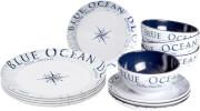 Podróżny zestaw obiadowy Midday Blue Ocean Brunner