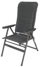 Krzesło kempingowe Grenoble Dark Grey EuroTrail