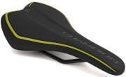 Juniorskie siodełko rowerowe Champion X8 czarno-żółte(fluo) Author