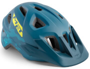 Kask rowerowy młodzieżowy Eldar Unismall niebieski matowy Met
