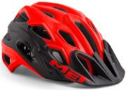 Kask rowerowy Lupo czerwono-czarny Met
