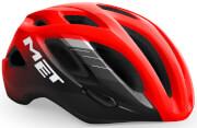 Kask rowerowy XL Idolo czerwono-czarny Met