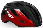 Kask rowerowy XL Idolo czarno-czerwony Met