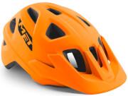 Kask rowerowy Echo pomarańczowy matowy Met