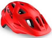 Kask rowerowy Echo czerwony matowy Met