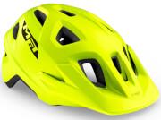 Kask rowerowy Echo limonkowy matowy Met