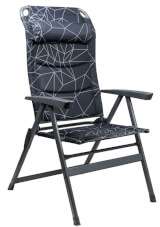 Krzesło składane Monaco Grey Portal Outdoor