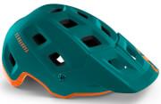 Kask MTB Terranova zielono-pomarańczowy Met