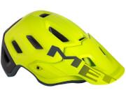 Kask enduro MTB Roam żółty Met