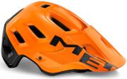 Kask enduro MTB Roam MIPS pomarańczowo-czarny Met