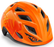 Kask rowerowy dziecięcy Elfo II Jungle pomarańczowy Met