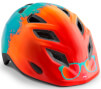 Kask rowerowy dziecięcy Elfo II Surfe pomarańczowy Met