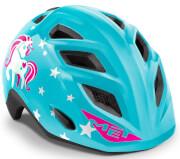 Kask rowerowy dziecięcy Genio II Unicorn niebieski Met