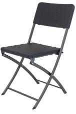Krzesło turystyczne Rattan Design Chair EuroTrail