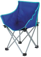 Krzesło turystyczne dla dzieci Xavier EuroTrail niebieskie