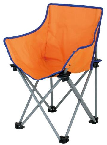 Krzesło turystyczne dla dzieci Xavier EuroTrail pomarańczowe