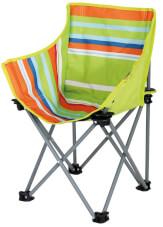 Krzesło turystyczne dla dzieci Xavier EuroTrail w paski