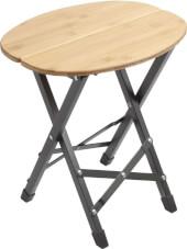 Stół kempingowy Twisty Bamboo Oval Brunner