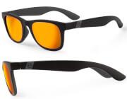 Okulary przeciwsłoneczne Respect czarno-szare Accent