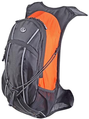 Plecak rowerowy Cyclone pomarańczowo-czarny z pokrowcem Author