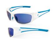 Okulary sportowe Freak biało-niebieskie Accent