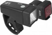 Zestaw lampek rowerowych Niteline T-1 AXA