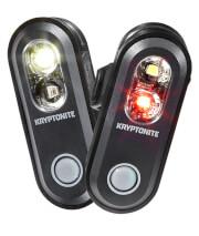 Zestaw lampek rowerowych Avenue F-70 i R-35 Kryptonite