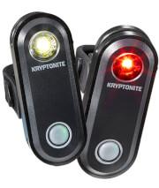 Zestaw lampek rowerowych Avenue F-65 i R-30 Kryptonite