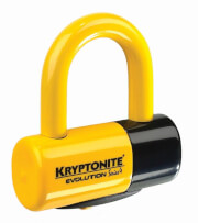 Blokada tarczy hamulcowej Evolution Series 4 Disc Lock żółta Kryptonite