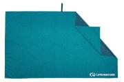 Szybkoschnący ręcznik turystyczny Recycled SoftFibre Printed Towel Teal Lifeventure