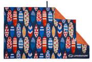 Szybkoschnący ręcznik turystyczny Recycled SoftFibre Printed Towel Surfboards Lifeventure
