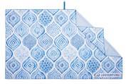 Szybkoschnący ręcznik turystyczny Recycled SoftFibre Printed Towel Santorini Lifeventure