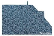 Szybkoschnący ręcznik turystyczny Recycled SoftFibre Printed Towel Navy Lifeventure