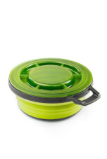 Składana miska turystyczna Escape Bowl + LID green GSI Outdoors