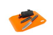 Zestaw nóż kuchenny i zwijana deska do krojenia Santoku Cut + Prep SET GSI Outdoors
