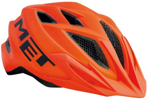 Kask rowerowy młodzieżowy Crackerjack pomarańczowy Met