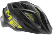 Kask rowerowy młodzieżowy Crackerjack czarny texture Met
