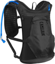 Kamizelka rowerowa z wentylacją Chase 8L Vest z bukłakiem Crux czarna Camelbak
