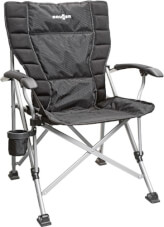 Krzesło kempingowe Raptor NG 2.0 czarne Brunner