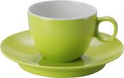 Filiżanki z melaminy do Espresso Set Espresso Spectrum Green Brunner