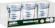 Zestaw nietłukących szklanek turystycznych Multiglass Atlantic San Set
