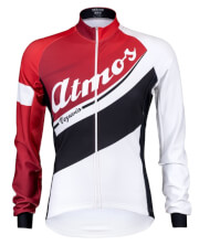 Bluza rowerowa Atmos Red&White Vezuvio
