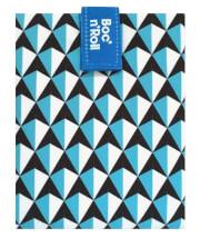 Śniadaniówka turystyczna Bac'n'Roll Tiles blue Roll'n'Eat