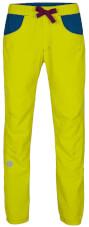 Damskie spodnie wspinaczkowe Jote Lady Milo citronelle/dark violet