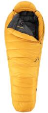Puchowy śpiwór zimowy Bering Pro -20 Medium Zajo yellow