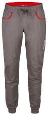 Męskie spodnie wspinaczkowe Ubu Milo grey / red