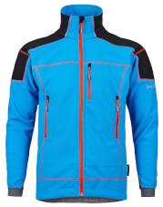 Techniczna kurtka polarowa SELLA Milo blue aster / black