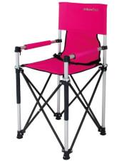 Krzesło turystyczne dla dzieci Petit JR pink EuroTrail